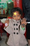 Kindergartener at Philani Development Centre and Craft Shop in Khayelitsha township.