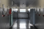 D cell block at  Robben Island (general population).