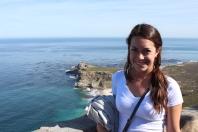 Emily at Cape Point. Cape Peninsula Tour