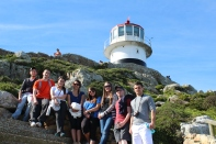 Cape Point Lighthouse (L to R): Mark, Bobby, Emily, Jazmin, Michelle, Chrystal, Evan, Ryan