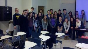 Stephanie Chapman's QU 101 class