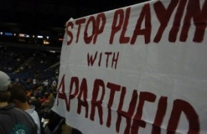 Stop playing with apartheid