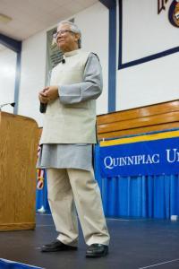 Muhammad Yunus at QU