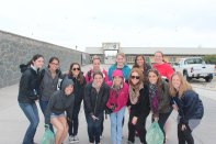 QU301 South Africa class at Robben Island