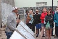 Derek, our guide and former political prisoner on Robben Island.