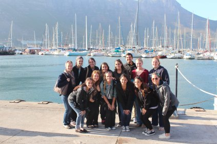 QU301 South Africa class at Hout Bay