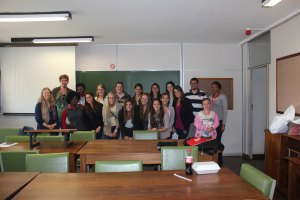 Quinnipiac University & University of Pretoria students group shot