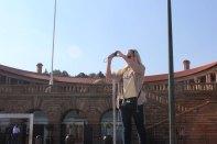 Kristyn at Union Building in Pretoria