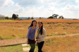 Jenna & Adriana at Mandela Museum