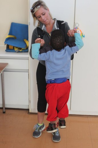 Kristyn stimulating child