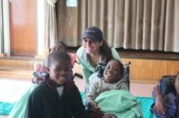Adriana with children