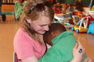 Alison with Jumbalani