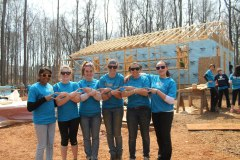 Danielle and I in Chatham, NC for Habitat for Humanity!